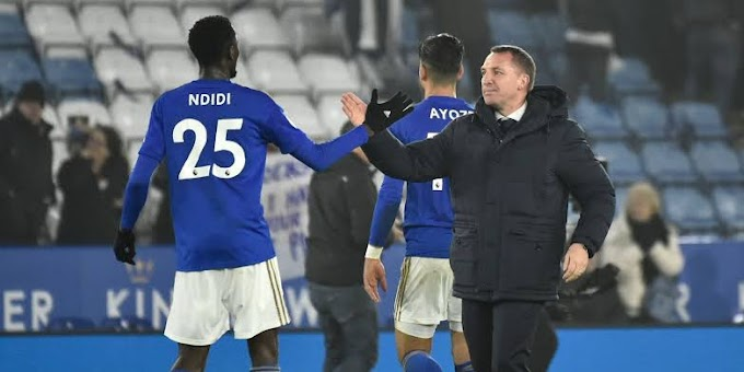 Playing under Rodgers has Changed my game - Ndidi