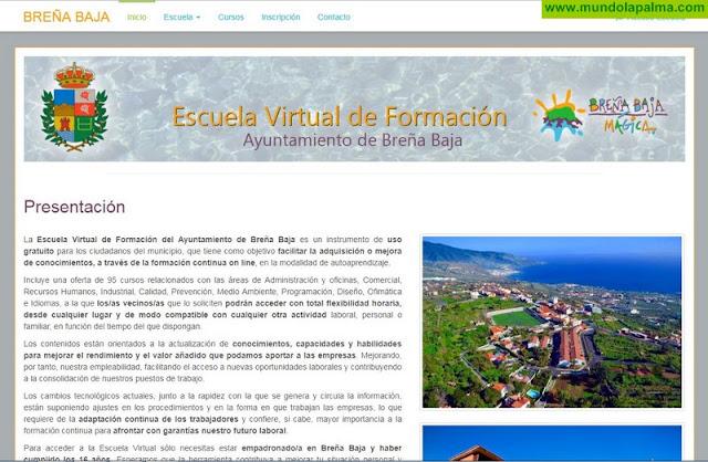 Nace la Escuela Virtual de Formación del Ayuntamiento de Breña Baja