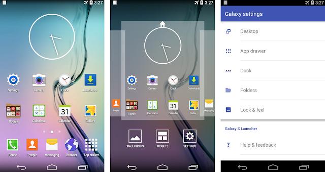 Cara Merubah Tampilan Android Menjadi Samsung Galaxy
