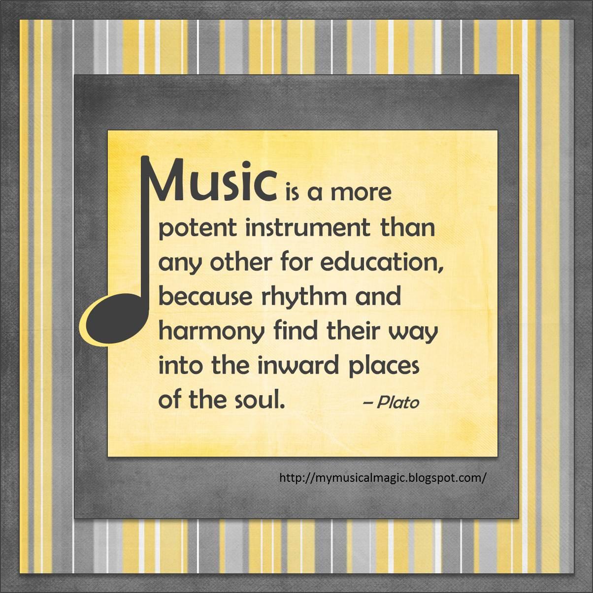 Plato Music Quotes | Pics | Download |