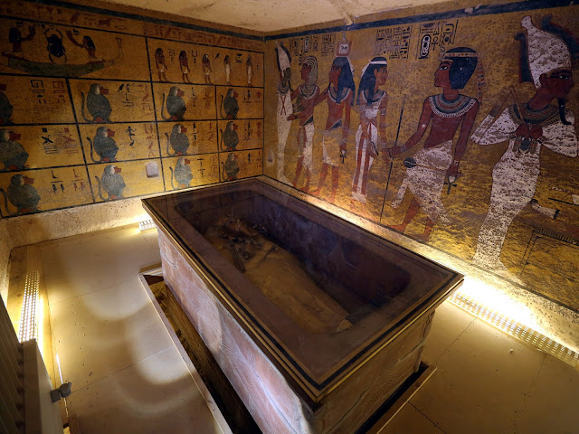 Egypt starts radar scans for secret rooms behind Tutankhamun's tomb