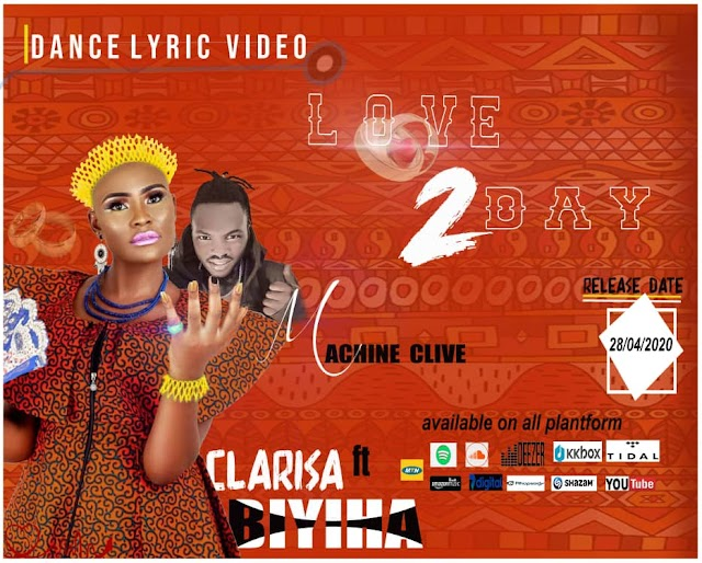 [Watch Lyrics Video] Clarisa Biyiha ft Machine Clive - Love 2Day || DJ PIKOLO MIX PROMO BLOG 237
