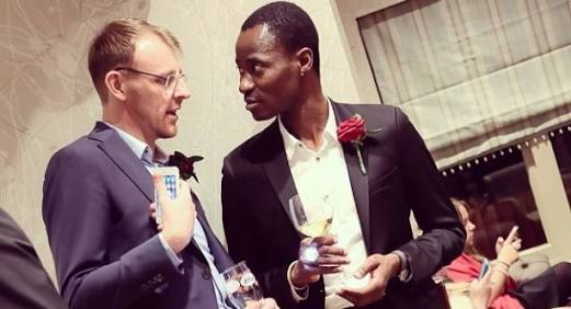 Nigerian Man wed fellow white gay guy