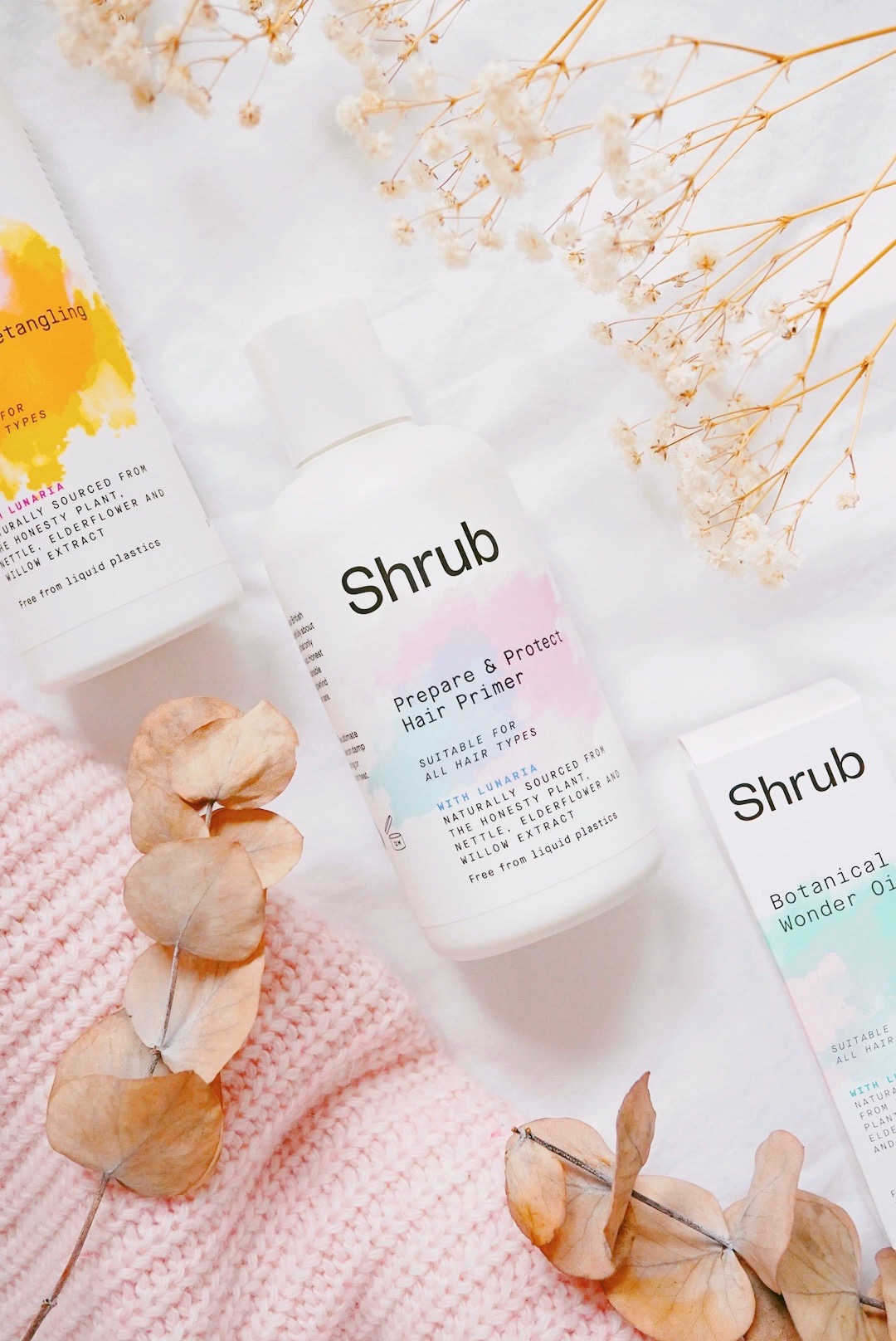 New In: Vegan Haircare from Shrub