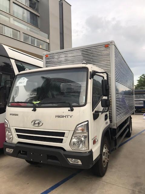 Giá lăn bánh xe tải Hyundai EX8 GTL thùng kín