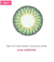 http://www.queencontacts.com/product/Geo-Tri-Color-Green-14.2mm-1028/21261