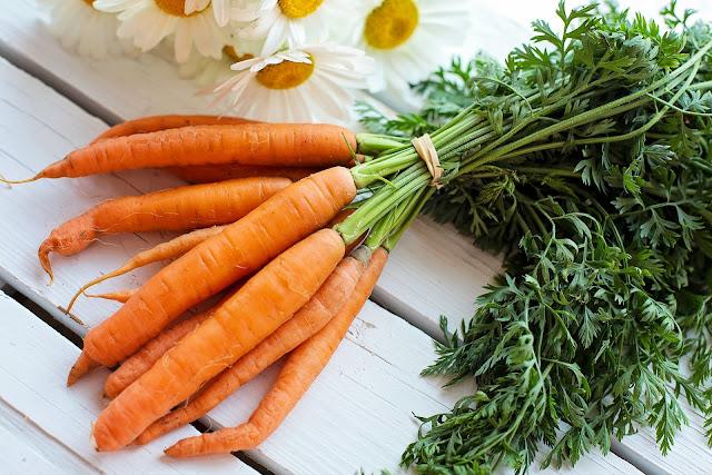 comer cenouras todos os dias