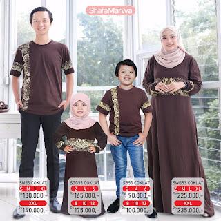 Koleksi Terbaru Kaos Sarimbit keluarga Shafa Marwa