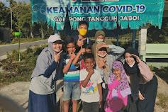 Ilham, pelajar Asal Provinsi Lampung Ikut kegiatan Pengabdian Masyarakat di Aceh