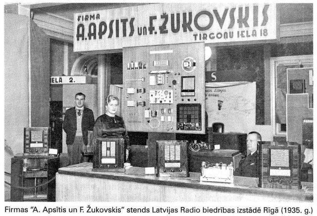 Фирма «A. Apsitis & F. Zhukovskis»