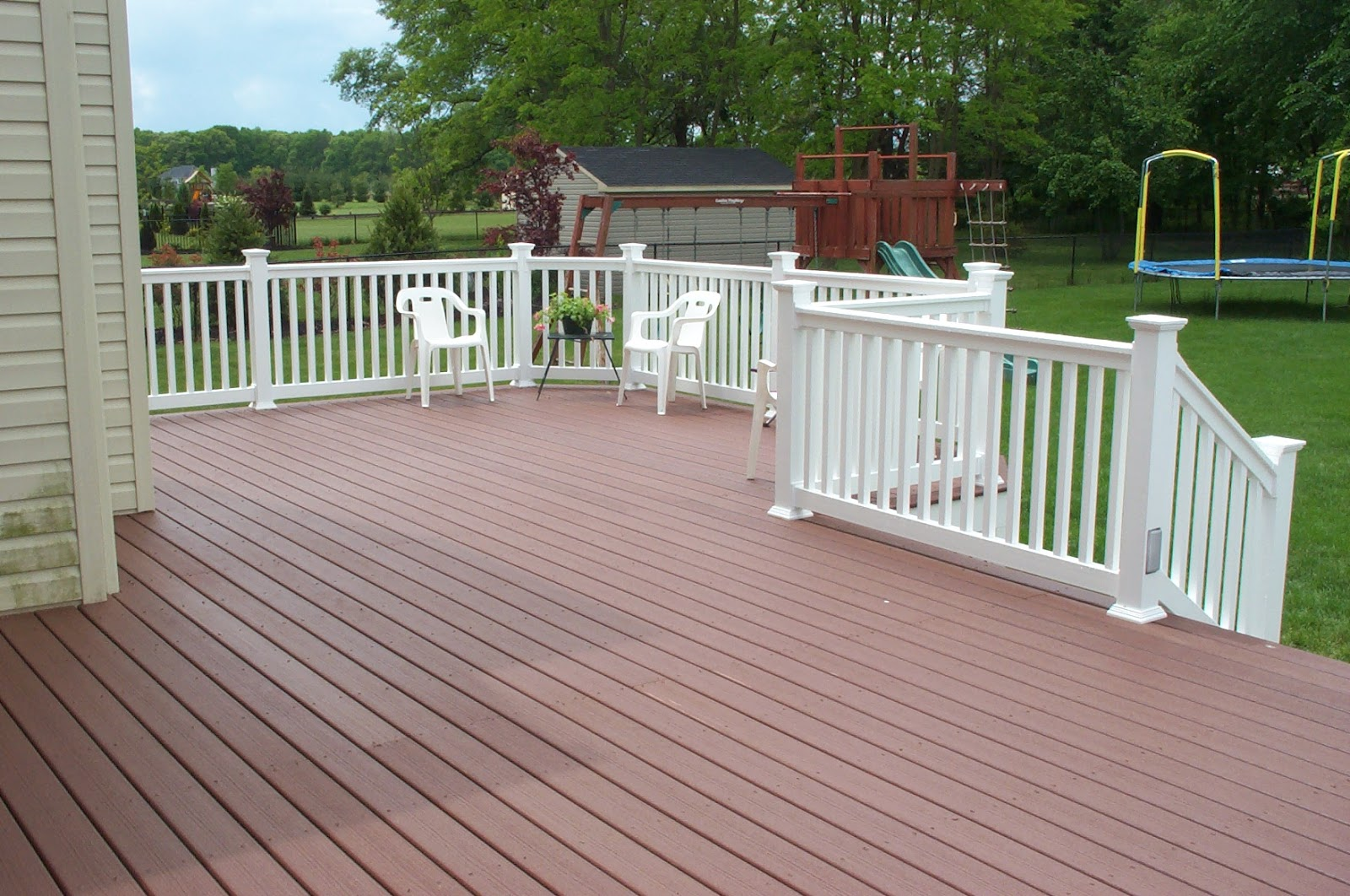 Real estate amarillo home sellers a deck may make the - Deck ideas for home ...
