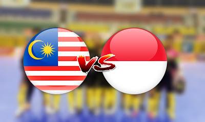 Live Streaming Malaysia vs Indonesia Kejohanan AFF Futsal 21.10.2019