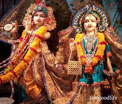 radha krishna god images good morning