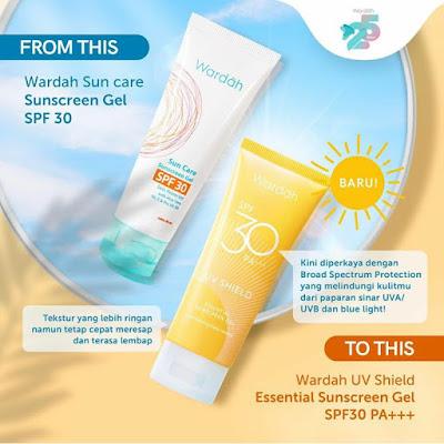 Wardah Sunscreen Gel SPF