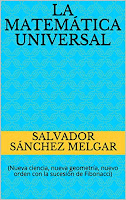 "Portada de color azul del libro ""La matemática universal"" en formato eBooK Kindle publicado en Amazon"