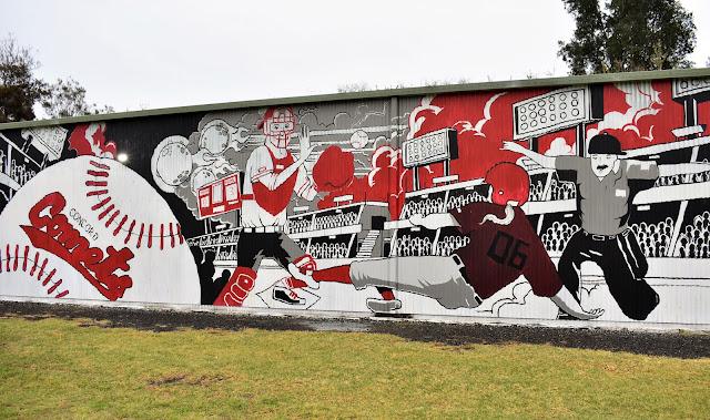 Concord Street Art by Danny Sixx