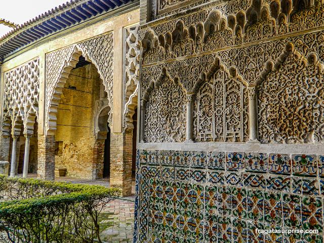Pátio de Gesso, Real Alcázar de Sevilha