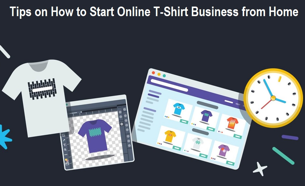 How to Start Online T-Shirt Business from Home