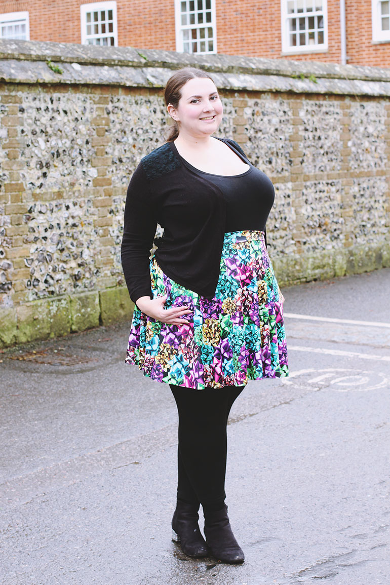 Plus size Black Milk skater skirt XL