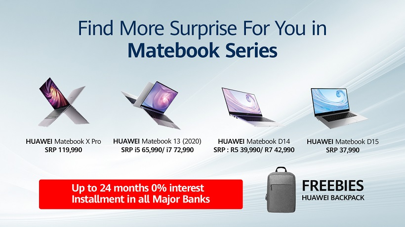 Huawei MateBook 14 Price Freebies