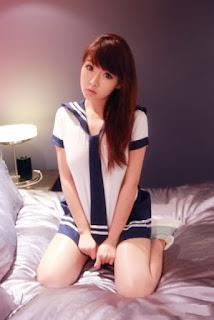 Foto Model Seksi Amanda Huan Jia