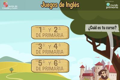 JUEGOS DE INGLÉS