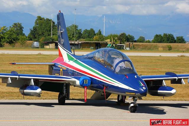 Aermacchi MB339 Italy Frecce Tricolori