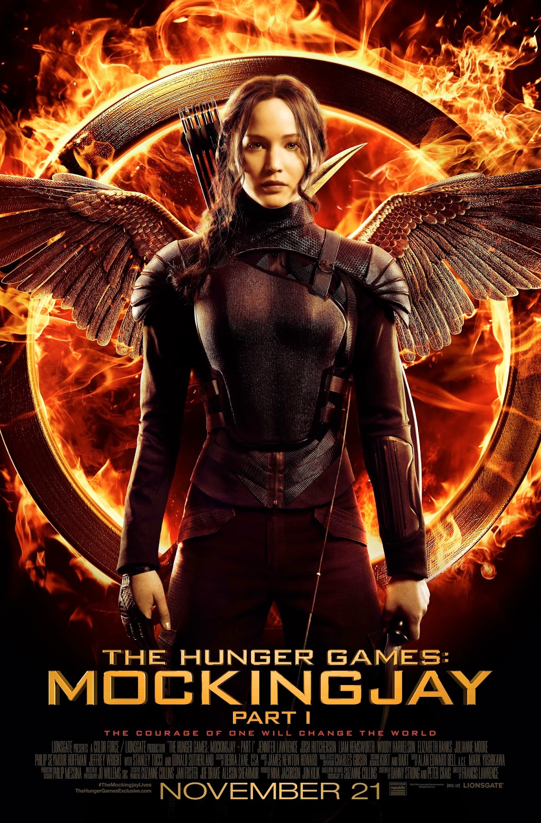 Hunger Games - Mocking Jay Part 1 Movie Poster