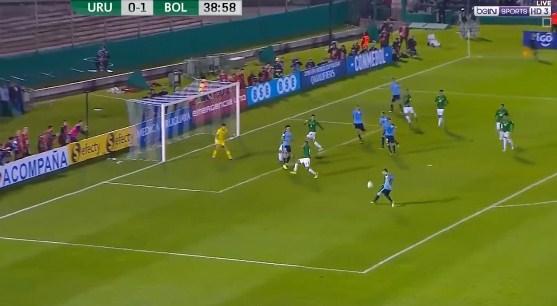 فيديو : اوروجواي تفوز على وبوليفيا برباعية مقابل هدفين 11-10-2017 تصفيات كأس العالم: أمريكا الجنوبية