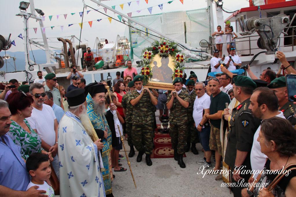 Η Παναγία η ''Τριχερούσα'' στον Σταυρό Θεσσαλονίκης (ΦΩΤΟ)