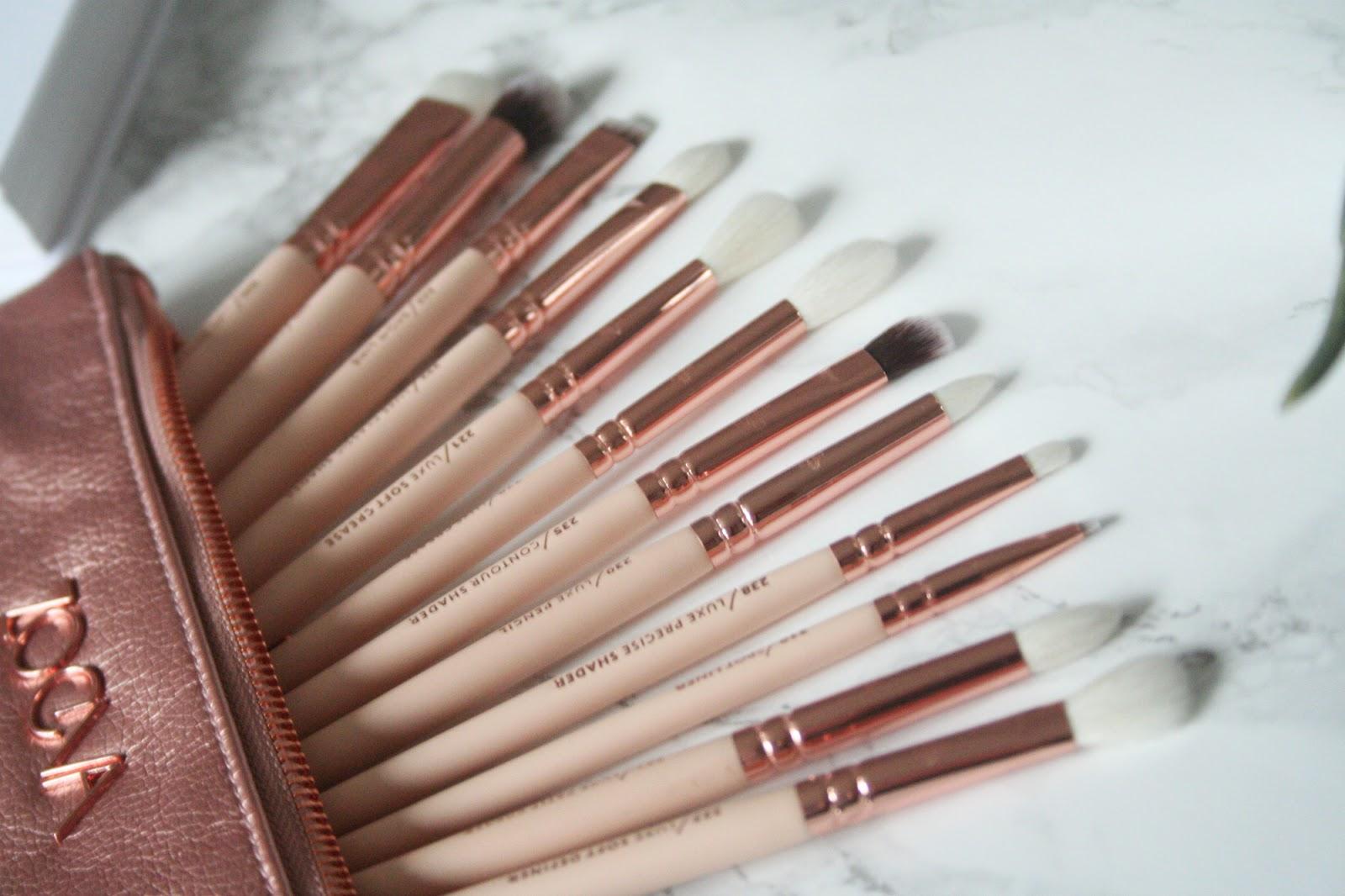 Review, Zoeva Rose Golden Complete Eye Set Vol. 2, Zoeva, Makeup Brushes