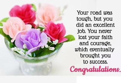 Success Quotes Congratulations