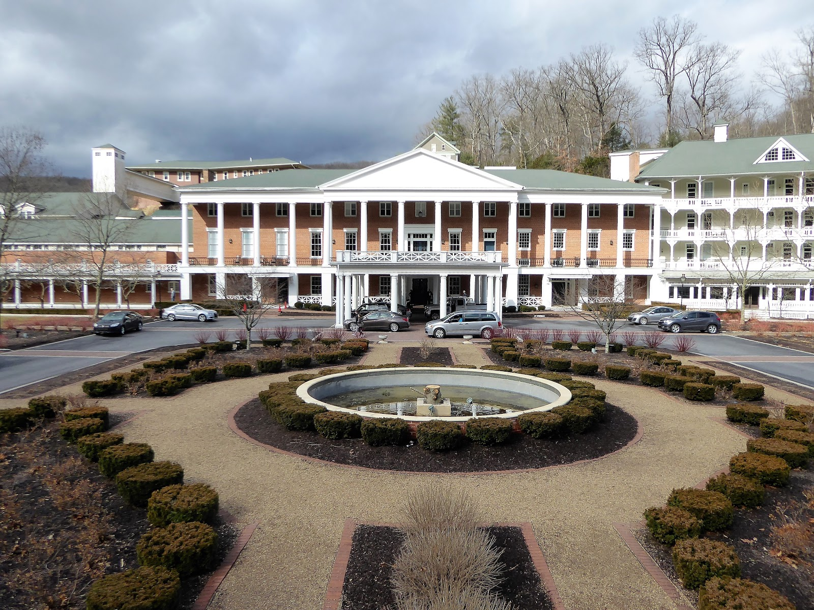 Omni Bedford Springs View From The Bridge