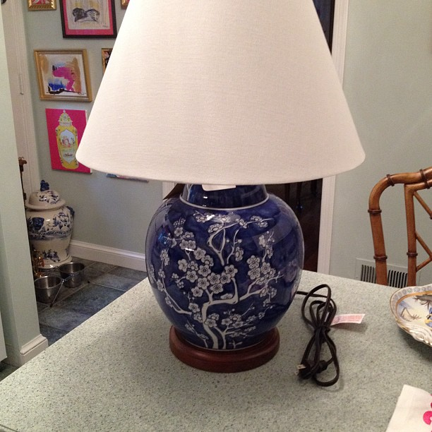 Home Good Lamps: Chinoiserie Chic: Chinoiserie Lamps At HomeGoods