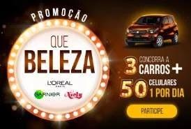 Cadastrar Promoção Que Beleza L'oreal Niely Garnier 2019 - Celular Todo Dia e 3 Carros