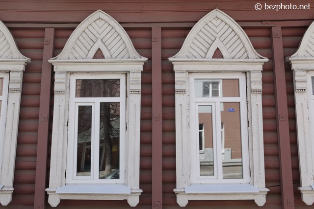 деревянные дома калуга