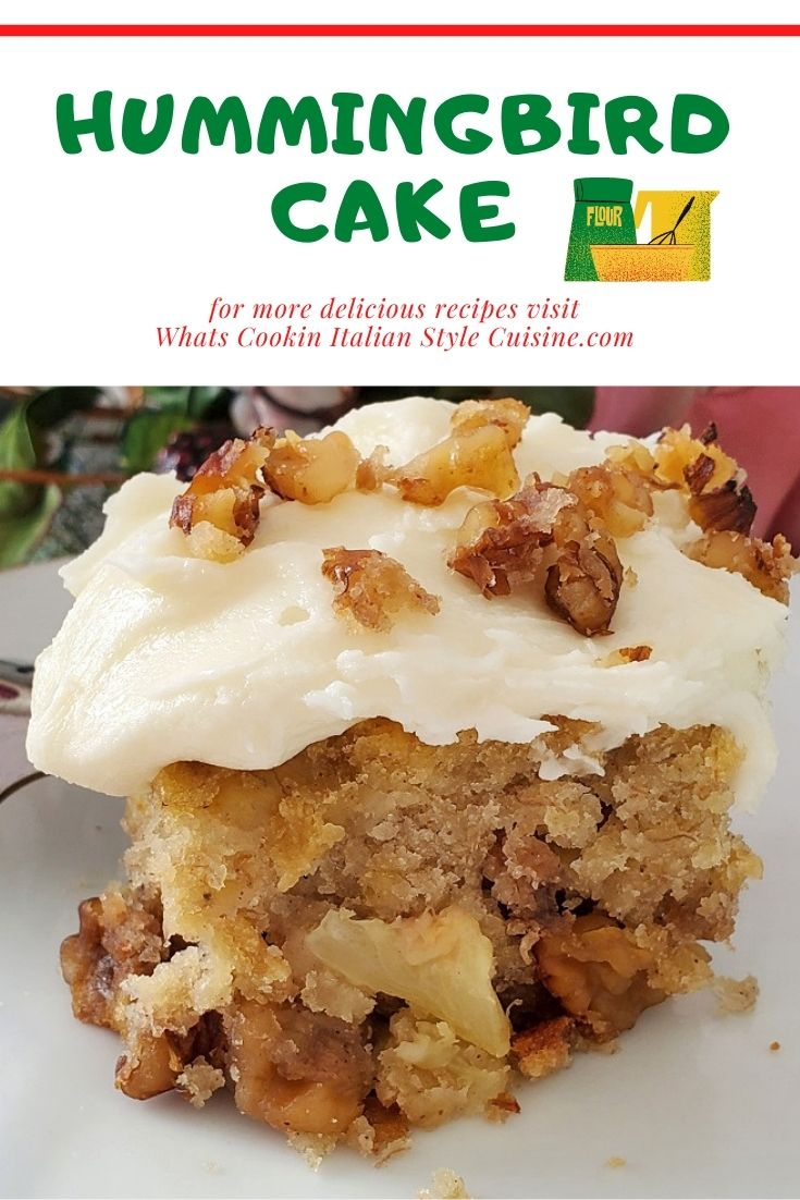 this is a pin for later cake with pineapple and bananas with cream cheese frosting