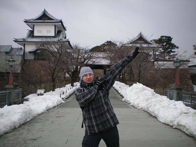 Entrada al castillo de Kanazawa