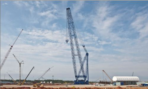 Plant Vogtle Crane One of Largest in the World