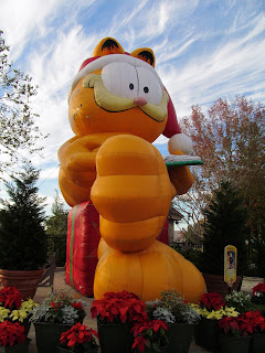 Garfield Float from the Macy's Parade