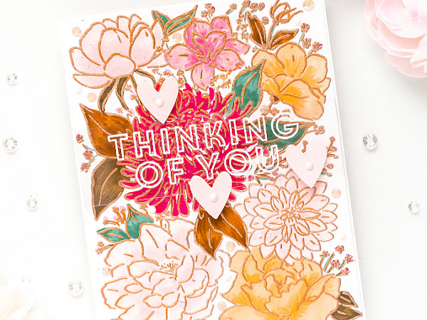 Thinking of You - Pinkfresh + The Stamp Market