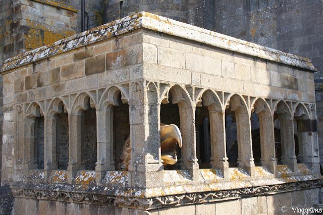 Interni dell'Abbazia di Saint Michel