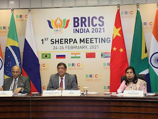 India held Sherpas' Meeting