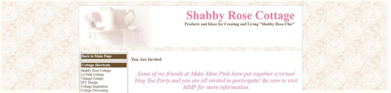 Shabby Rose Cottage Blog Shot