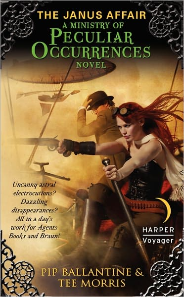 An Interview with Pip Ballantine and Tee Morris & a Giveaway - May 30, 2012