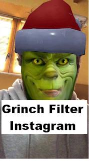 Grinch filter instagram || How to get a grinch filter on Instagram
