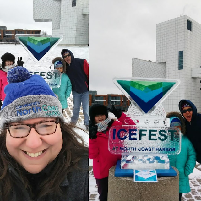 What We Did in CLE: North Coast Harbor Ice Fest