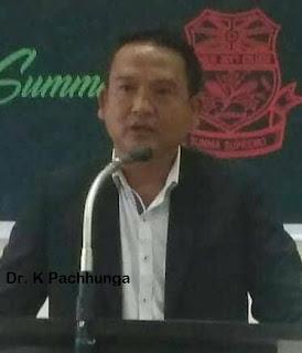 Dr. K PACHHUNGA