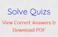 Solve Quizs & View Correct Answers