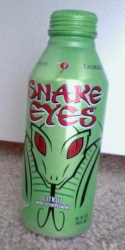 caffeine review for snake eyes citrus